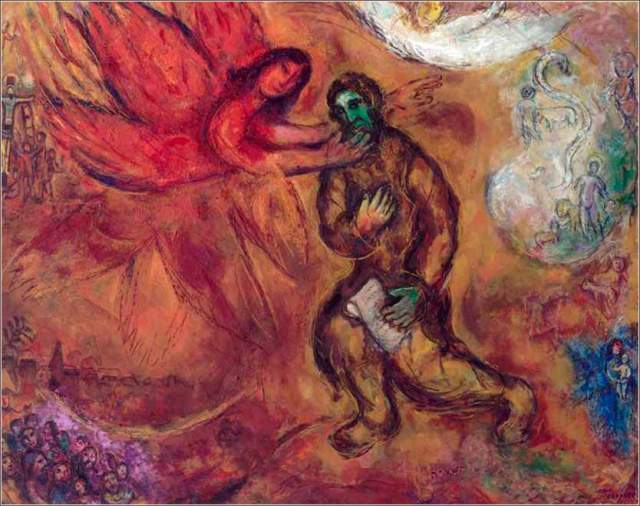 isaiah_ by Mark Chagall
