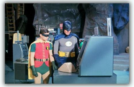 batman-1966-adam-west-burt-ward-robin-batcave-abc-tv-dc-comics-silver-age-set