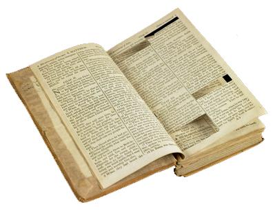 biblewithcutout