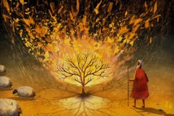 Moses-and-the-burning-bush-Voice-in-the-flames-510x340